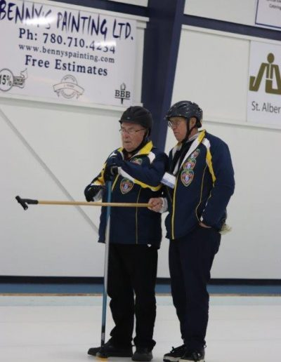Crowe / Spinney Conference at Stick Curling Nationals 2018