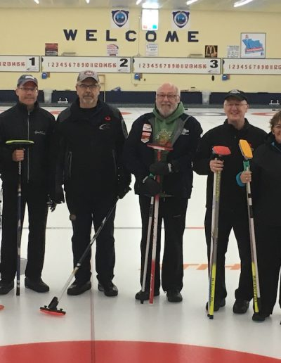 Stick Curling Competitive League First Games - Yarmouth vs Lakeshore