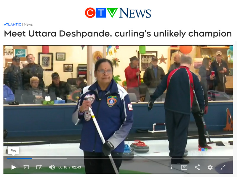 Nova Scotia Curling news video